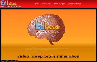 Virtual Deep Brain Surgery