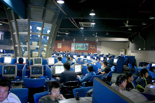 china internet cafe