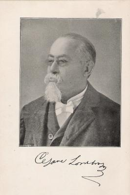 Dr Cesare Lombroso