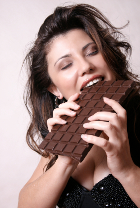 After satiation with chocolate the tasting of chocolate activates different ...