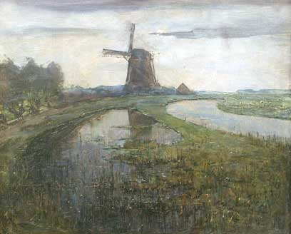 Windmill Piet Mondriaan