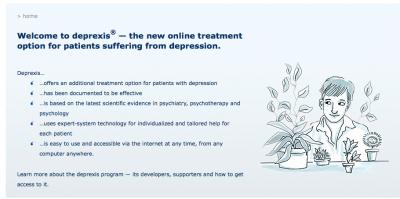 online depression treatment