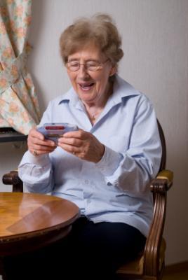 elderly game console