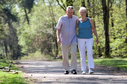 walking elderly